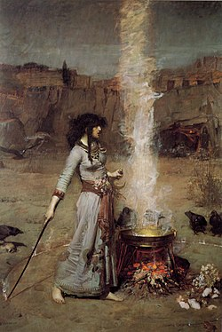 250px-John_William_Waterhouse_-_Magic_Circle